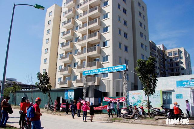 Dự án cải tạo chống thấm chung cư cán bộ chiến sỹ quận Hoàng Mai