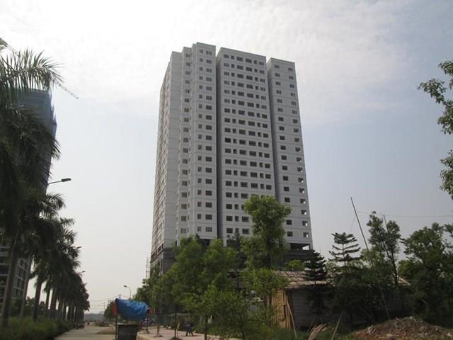 Dự án chống thấm chung cư N03 – T5 Ngoại Giao Đoàn