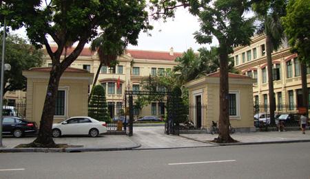 Dự án cải tạo chống thấm trụ sở bộ Lao Động Thương Binh và Xã Hội