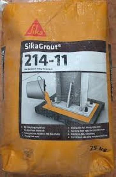 Sikagrout 214-11 Vữa rót gốc xi măng, không co ngót
