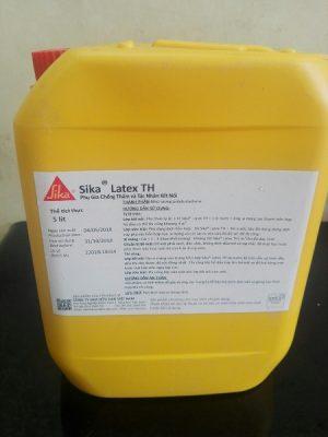 Sika Latex Th phụ gia chống thấm và kết nối