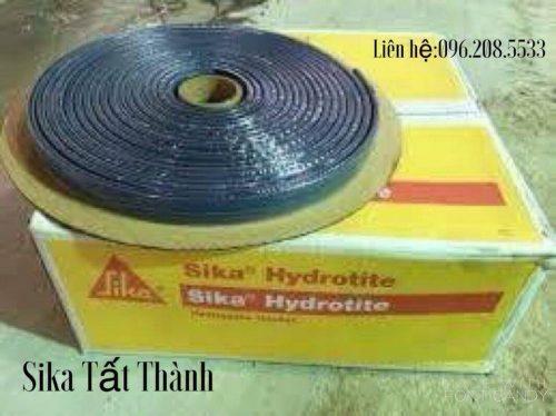 Sika Hydrotite CJ-Type(Vật liệu chèn khe có thể hút nước dùng để trám khe bê tông hình thành ở công trường)