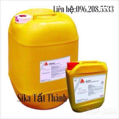 Sika Lite-Phụ gia chống thấm Sika cho vữa với tính thi công cao Sika lite