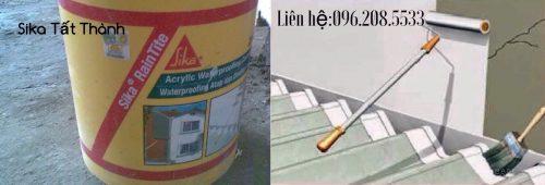 Sika RainTite | Hợp chất chống thấm đàn hồi kháng UV